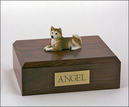 Dog, Husky, Red - Figurine Urn