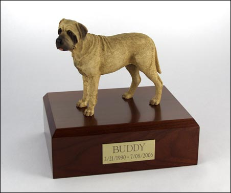 Dog, Bull Mastiff - Figurine Urn
