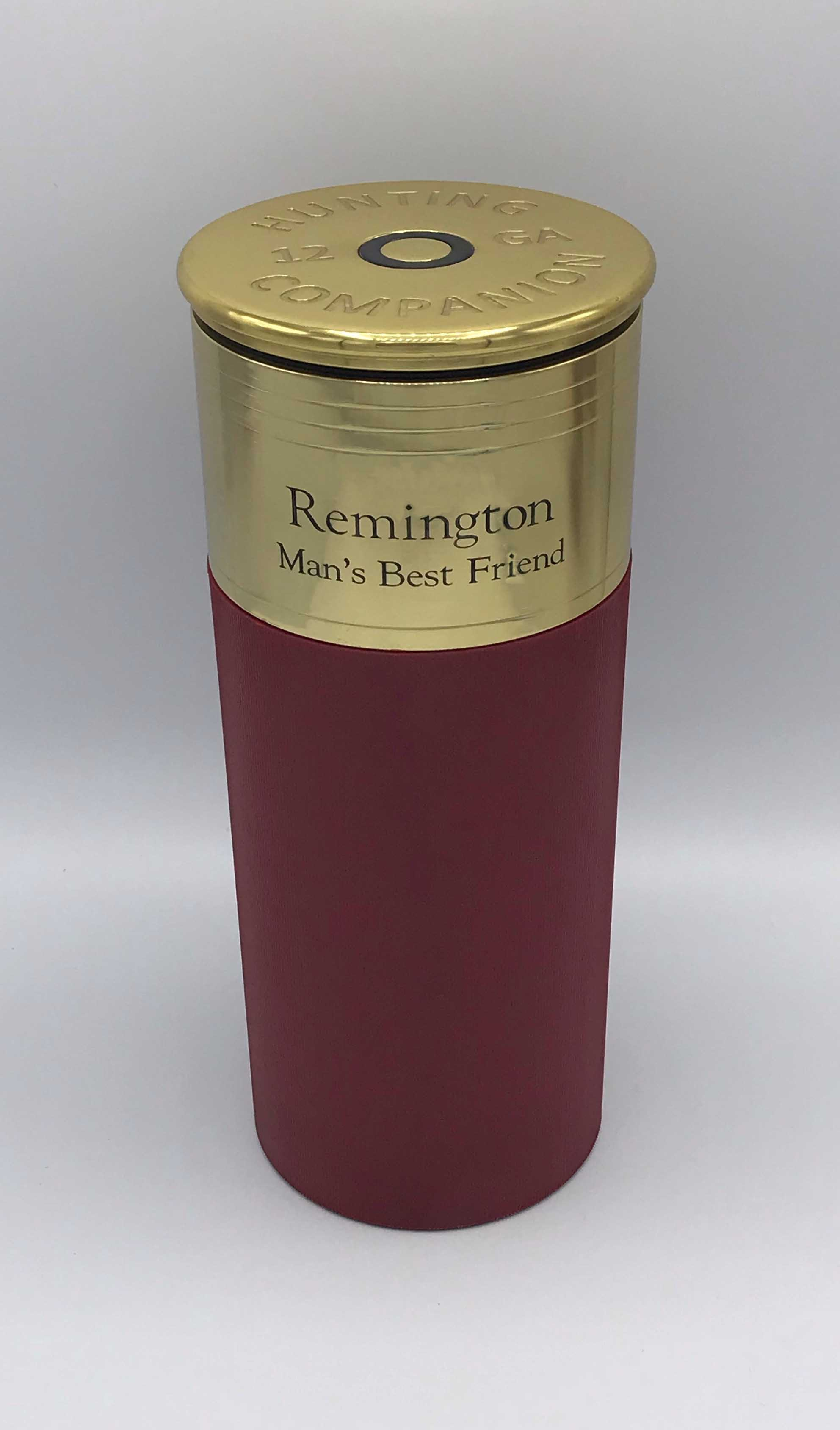 Engraved Shotgun Urn - Red