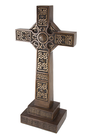 Brass Celtic Cross