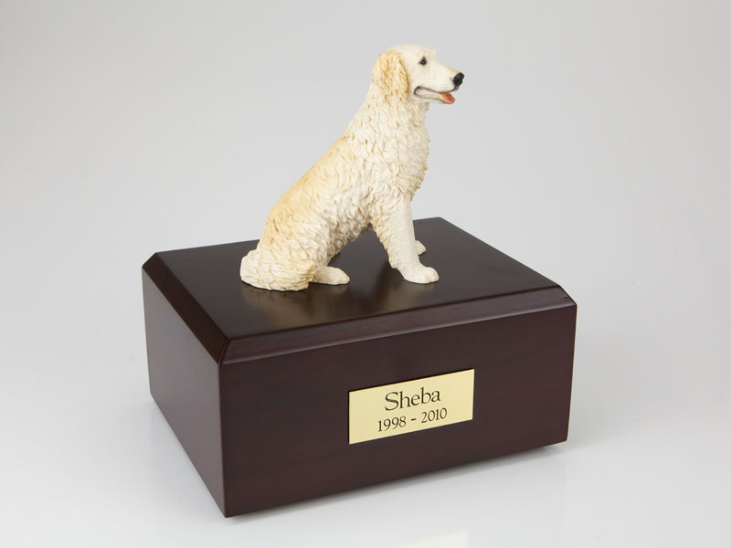 Dog, Golden Retriever, Blond - Figurine Urn