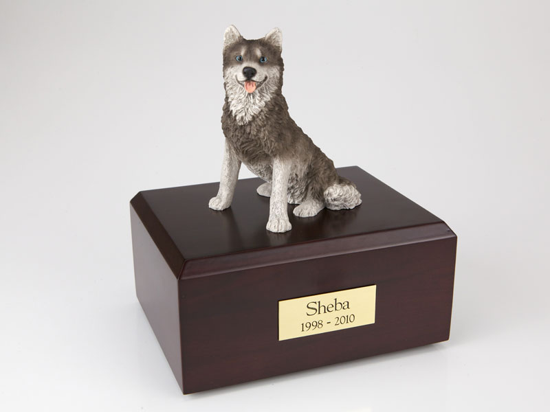 Dog, Husky - Figurine Urn