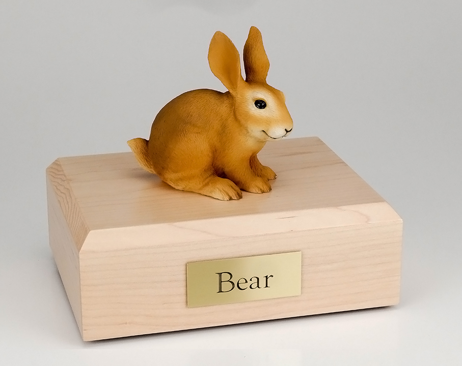 Rabbit, Brown - Figurine Urn