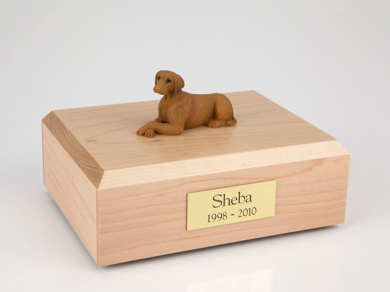 Dog, Vizsla - Figurine Urn