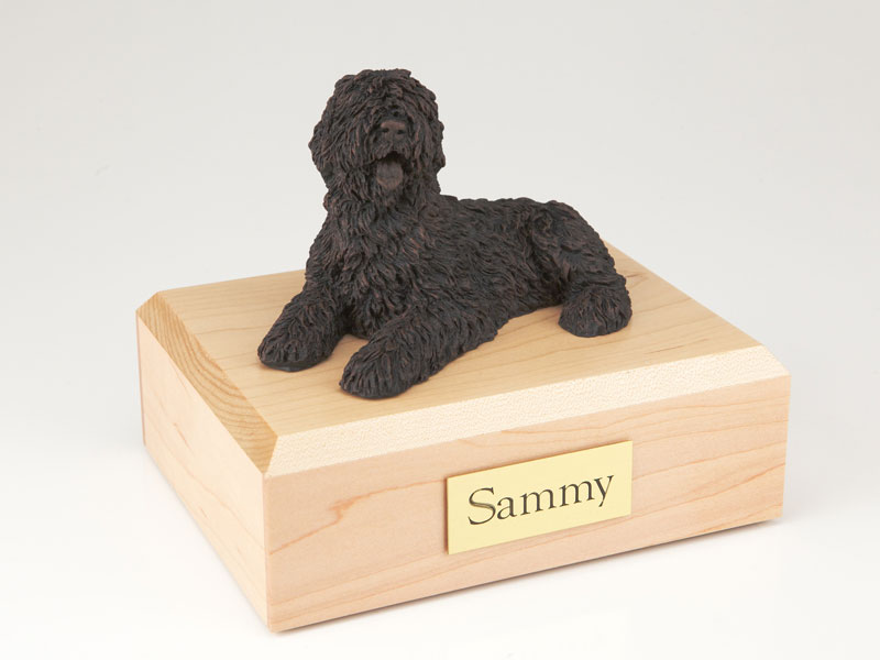 Dog, Sheepdog, Bronze - Figurine Urn