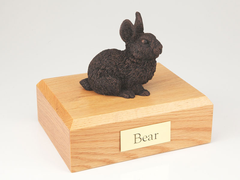 Rabbit, Bronze - Figurine Urn