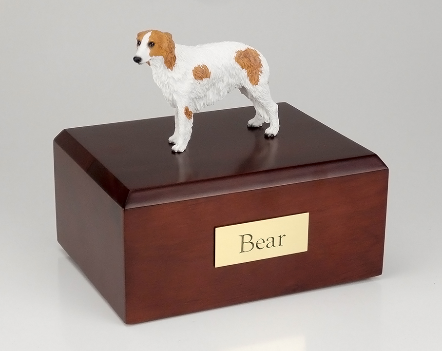 Dog, Borzoi - Figurine Urn