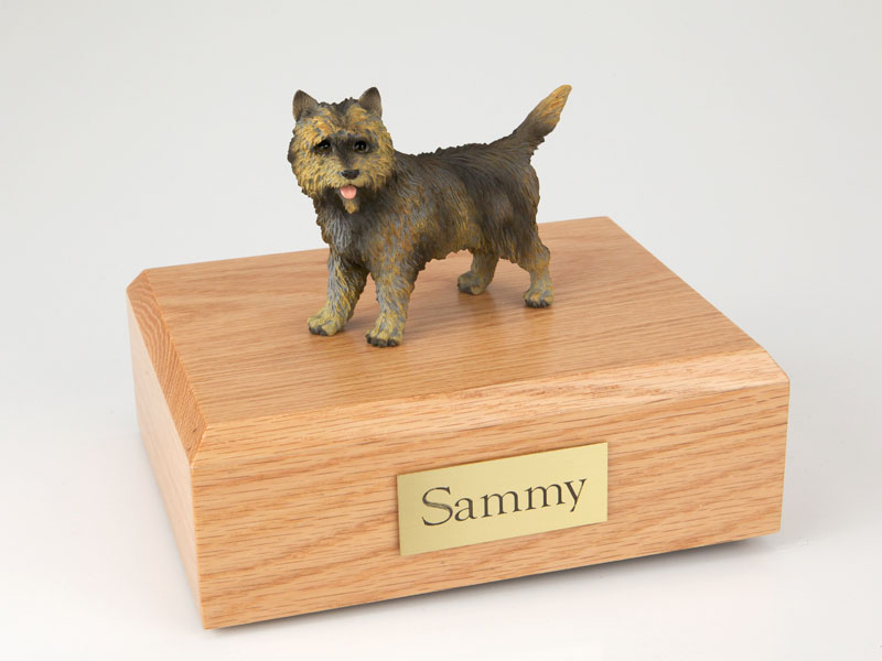 Dog, Cairn Terrier, Brindle - Figurine Urn
