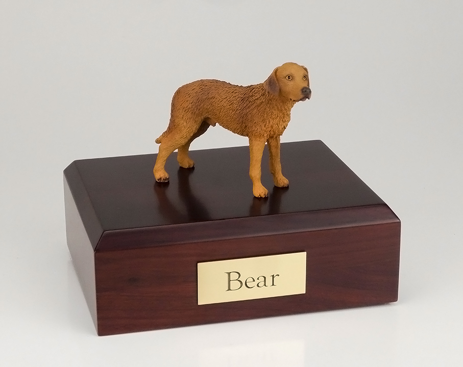 Dog, Chesapeake Bay Retriever - Figurine Urn