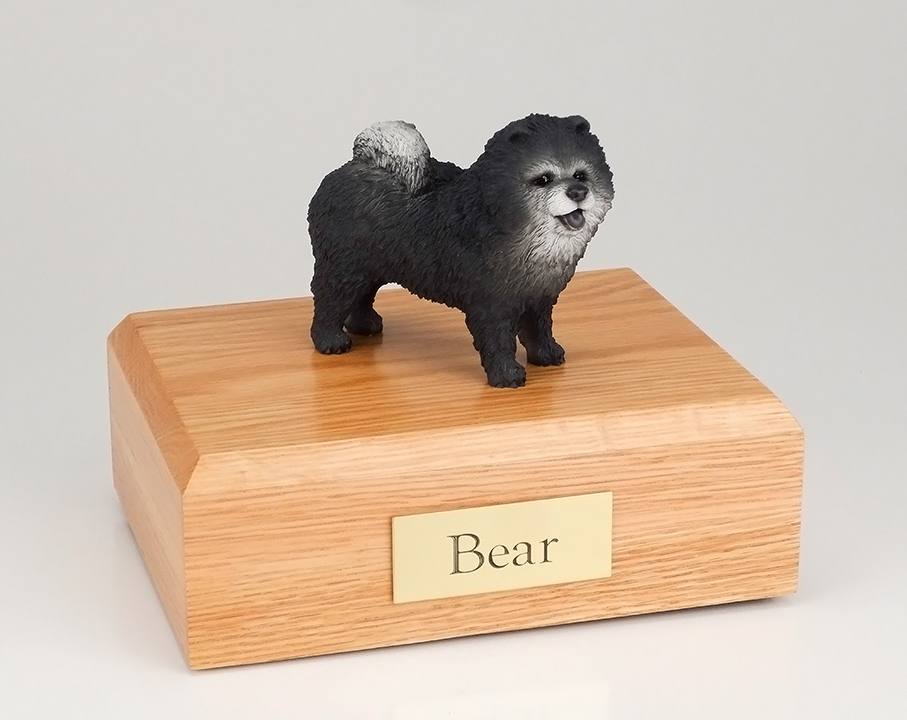 Dog, Chow, Blue - Figurine Urn