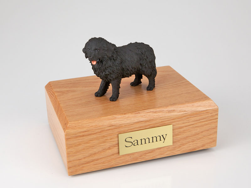 Dog, Newfoundland - Figurine Urn