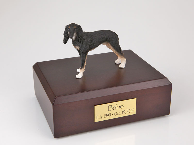 Dog, Saluki - Figurine Urn