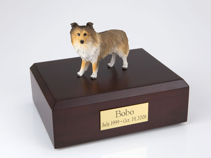 Dog, Sheltie, Sable - Figurine Urn