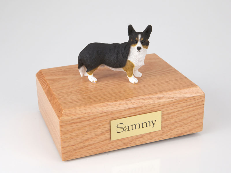 Dog, Welsh Corgi, Cardigan - Figurine Urn