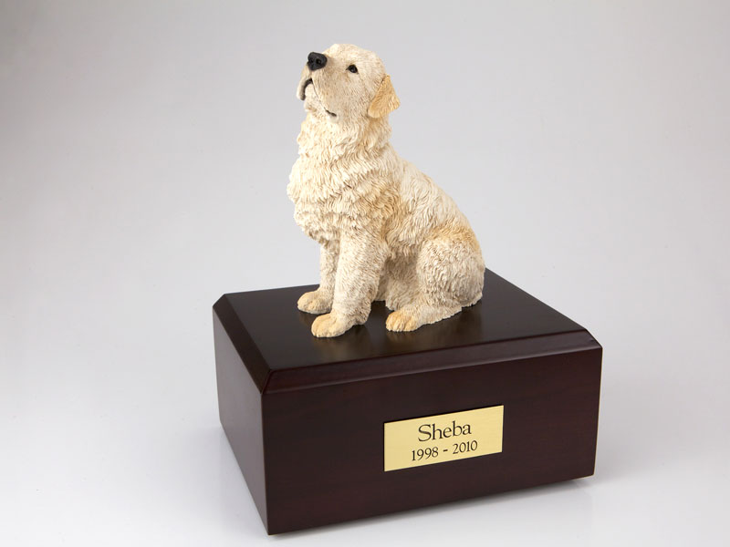 Dog, Flanders - Figurine Urn
