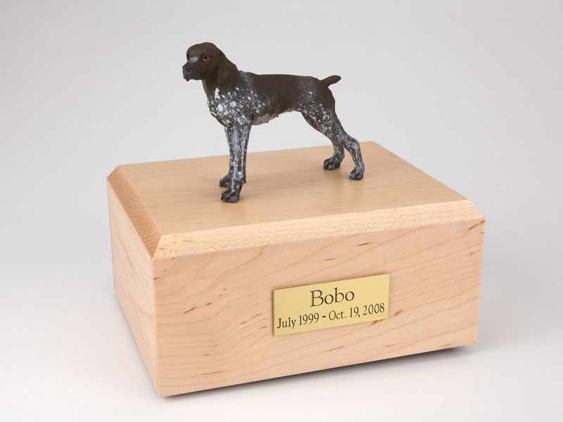 Dog, German Shorthair - Figurine Urn